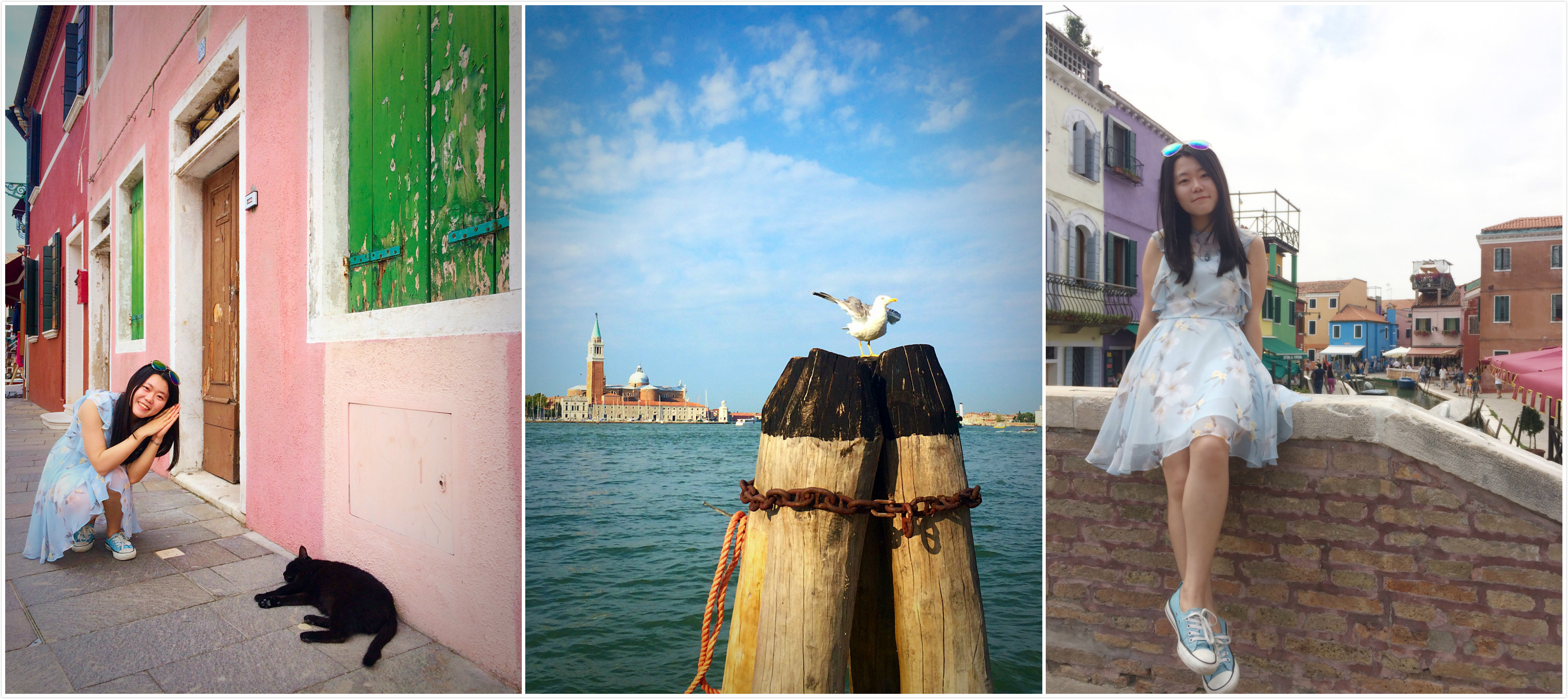 Photos taken in Venice, Italy